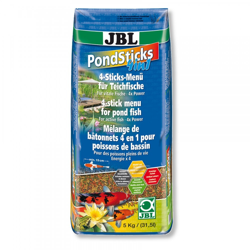 JBL Pond Sticks 4in1 31.5 литров 5кг.